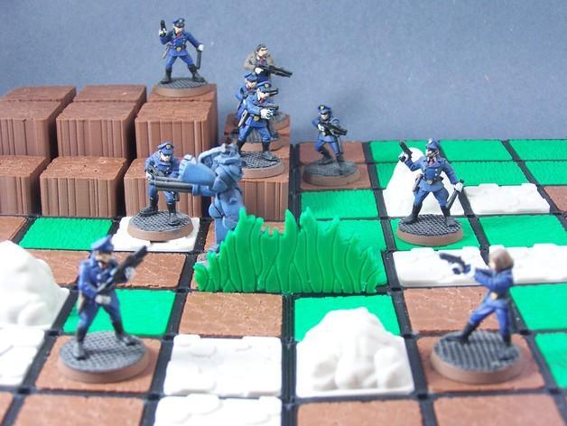 模块化的游戏基地模型 3D模型  图2