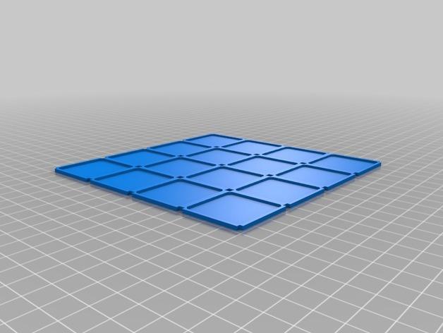 模块化的游戏基地模型 3D模型  图3