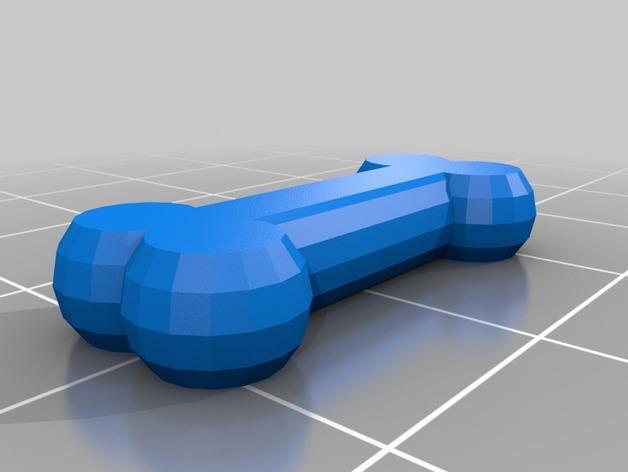 软木小狗零部件模型 3D模型  图7