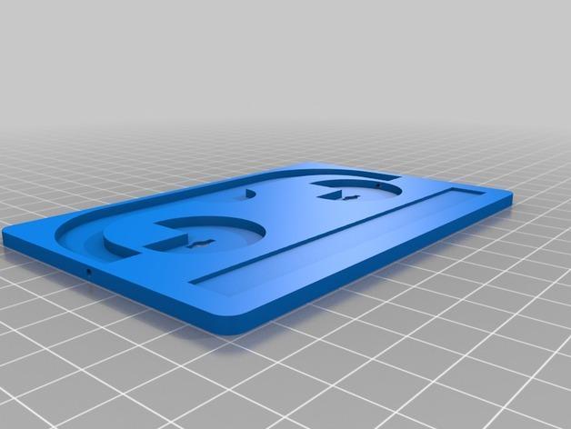可密封的分类盒 3D模型  图2