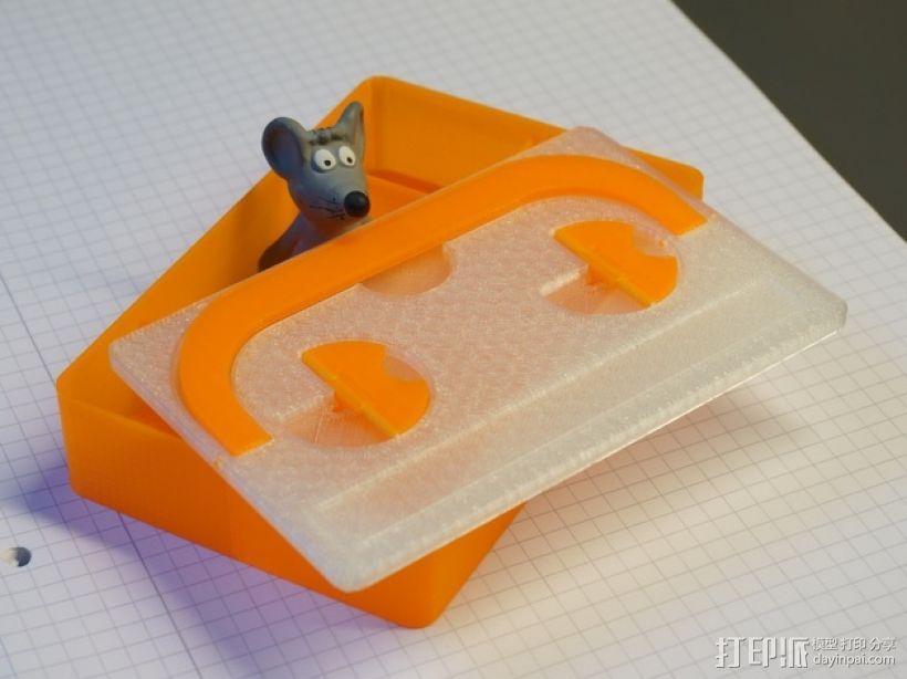 可密封的分类盒 3D模型  图1