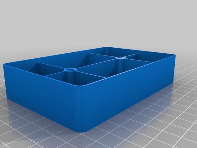 可密封的分类盒 3D模型  图6
