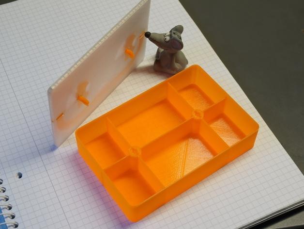 可密封的分类盒 3D模型  图7