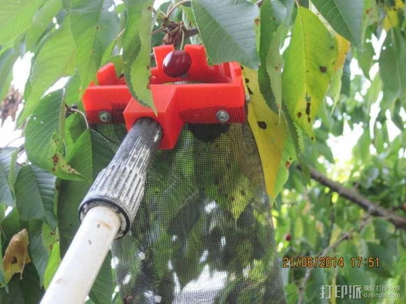 水果采集机 3D模型  图1