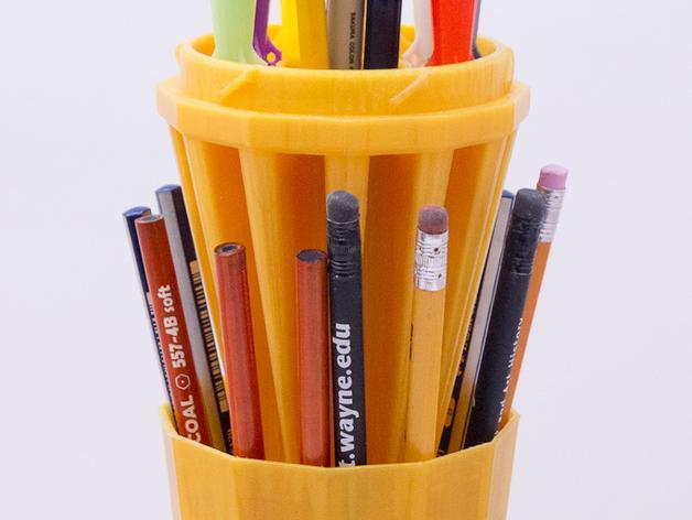 火箭 铅笔盒 3D模型  图4