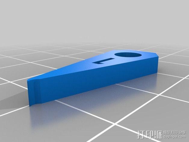 半径量规 3D模型  图9