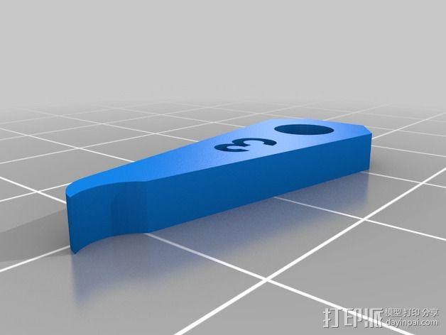 半径量规 3D模型  图11