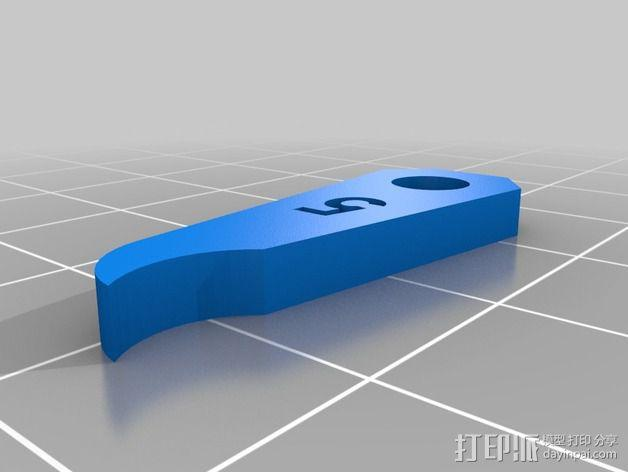 半径量规 3D模型  图13