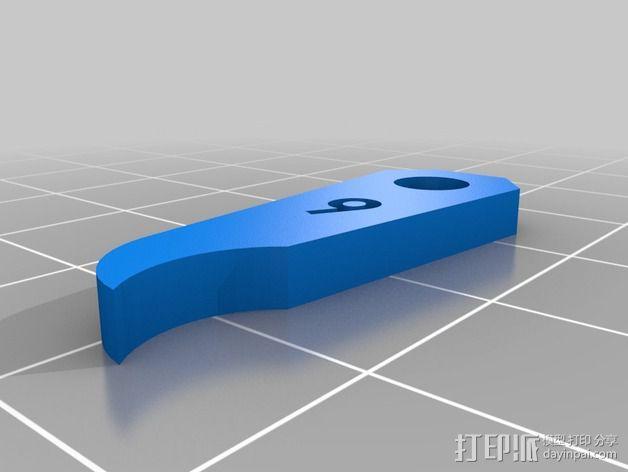 半径量规 3D模型  图14