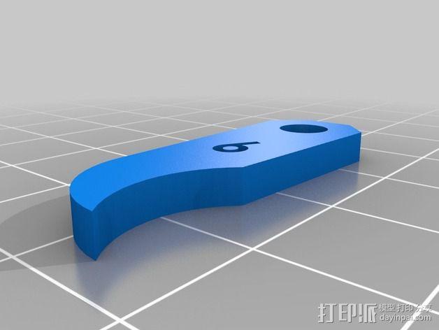 半径量规 3D模型  图17