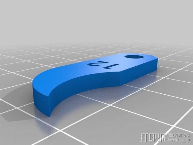 半径量规 3D模型  图20