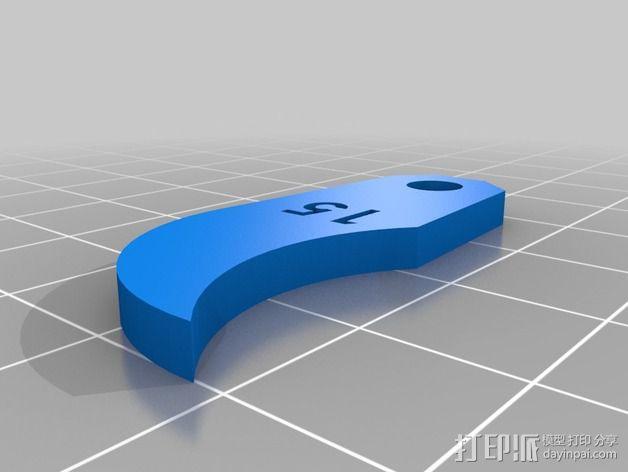 半径量规 3D模型  图23