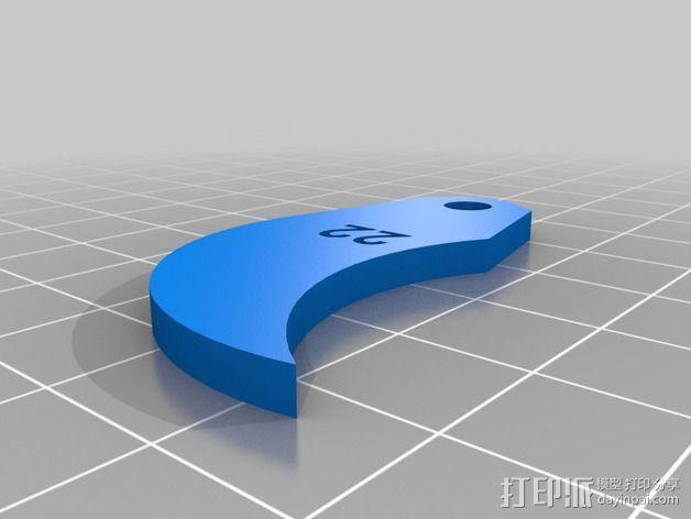 半径量规 3D模型  图30