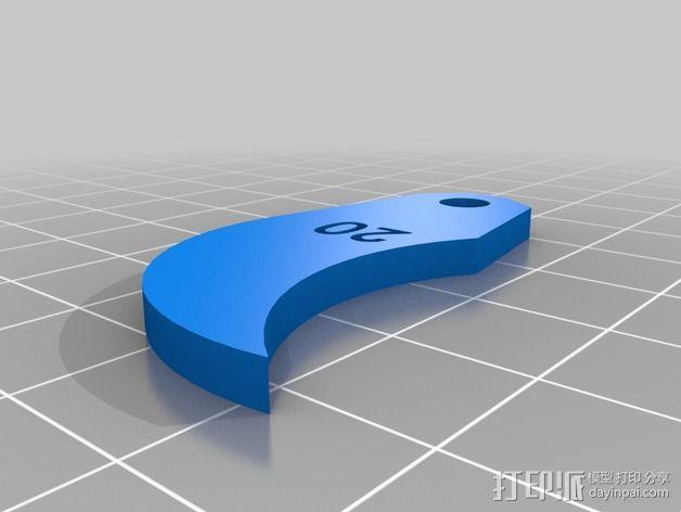 半径量规 3D模型  图28