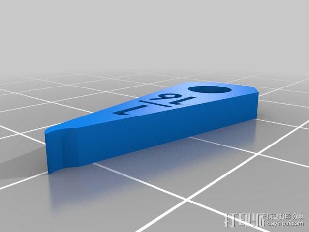 半径量规 3D模型  图35