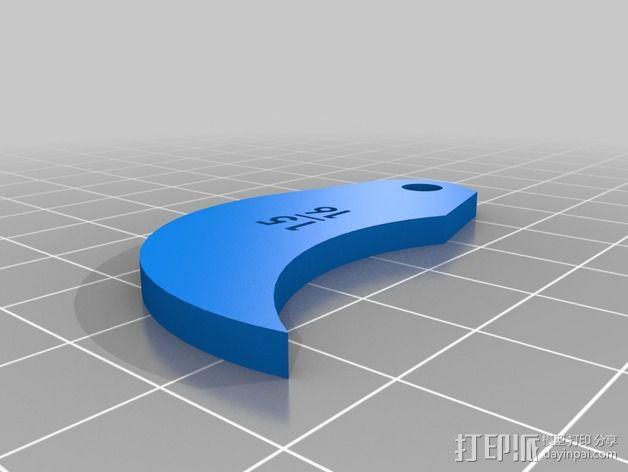 半径量规 3D模型  图49
