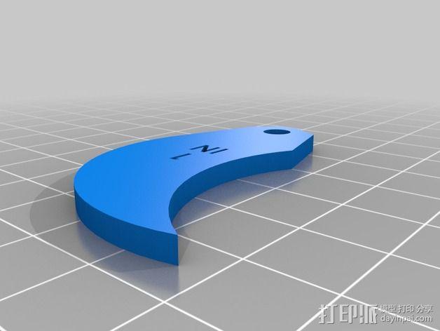半径量规 3D模型  图50