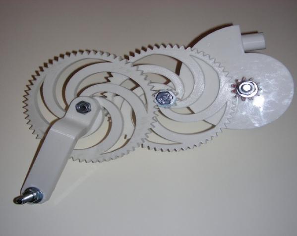 渐开线鼓风机 3D模型  图2