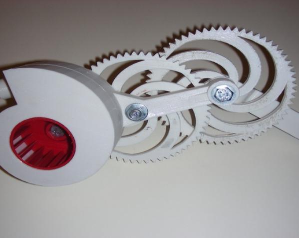 渐开线鼓风机 3D模型  图1