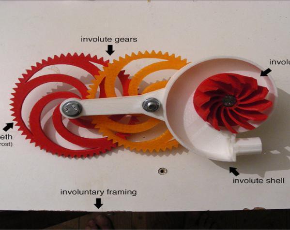 渐开线鼓风机 3D模型  图5