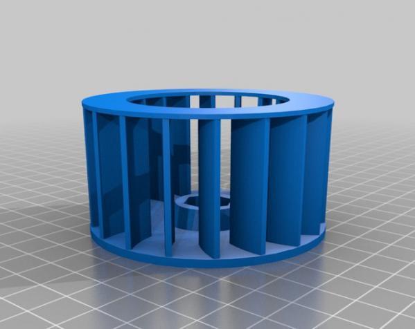 渐开线鼓风机 3D模型  图11