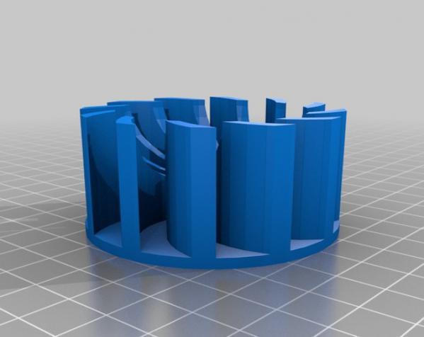 渐开线鼓风机 3D模型  图10