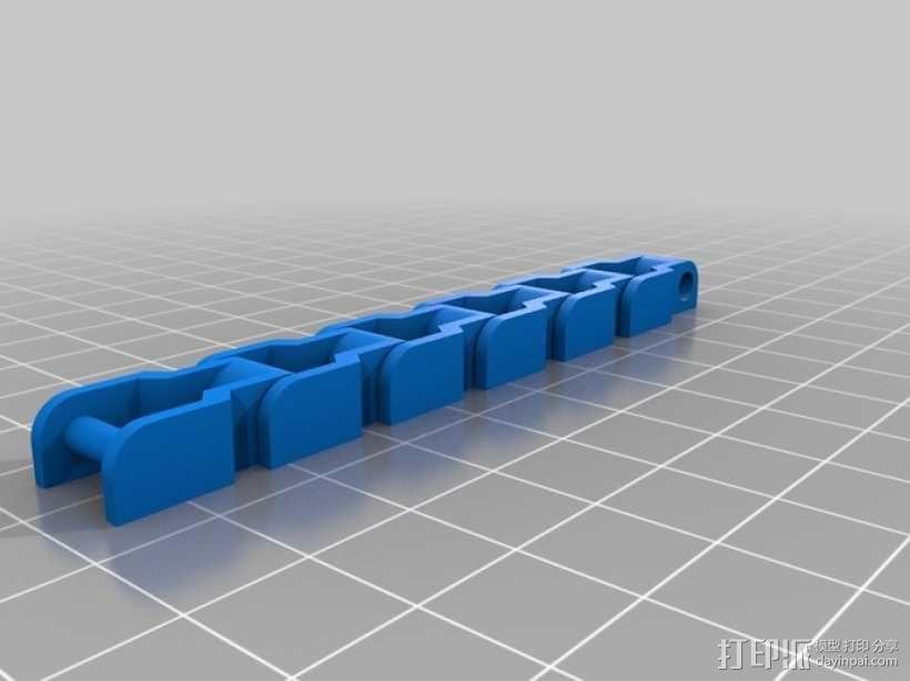传动链 3D模型  图2
