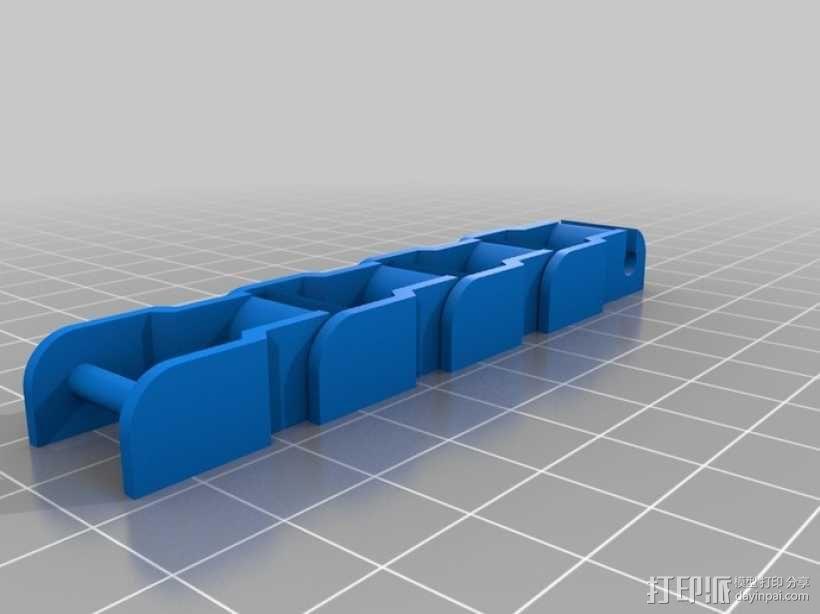 传动链 3D模型  图3