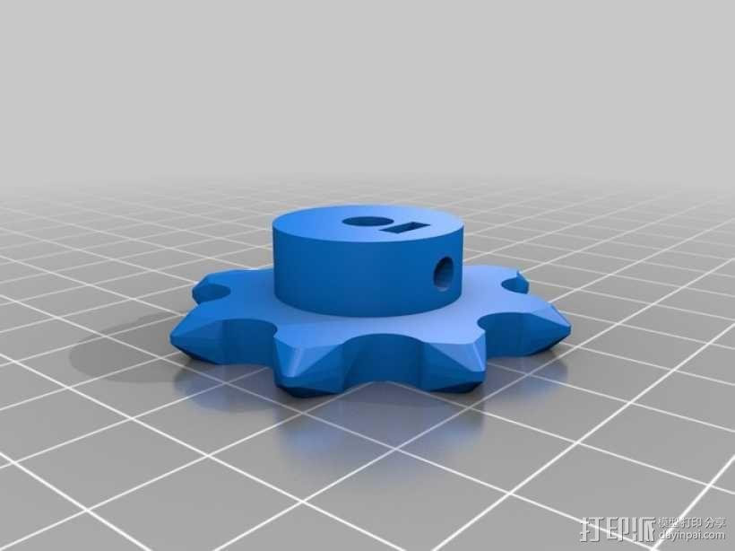 传动链 3D模型  图6