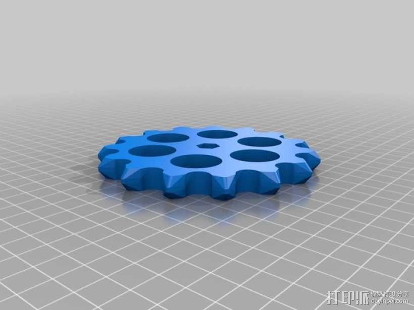 传动链 3D模型  图7