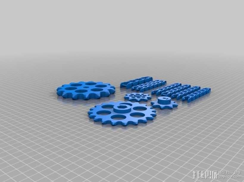 传动链 3D模型  图9