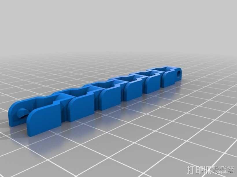 传动链 3D模型  图8