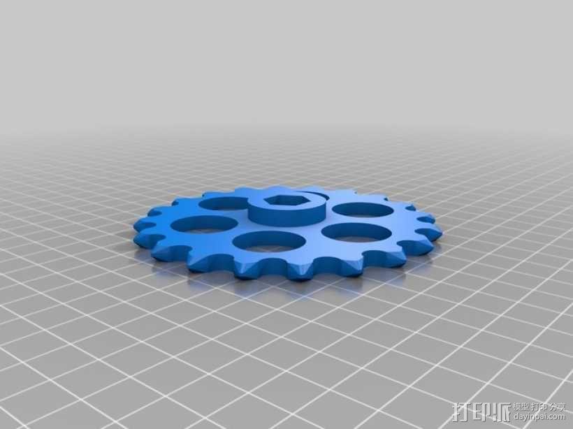 传动链 3D模型  图11