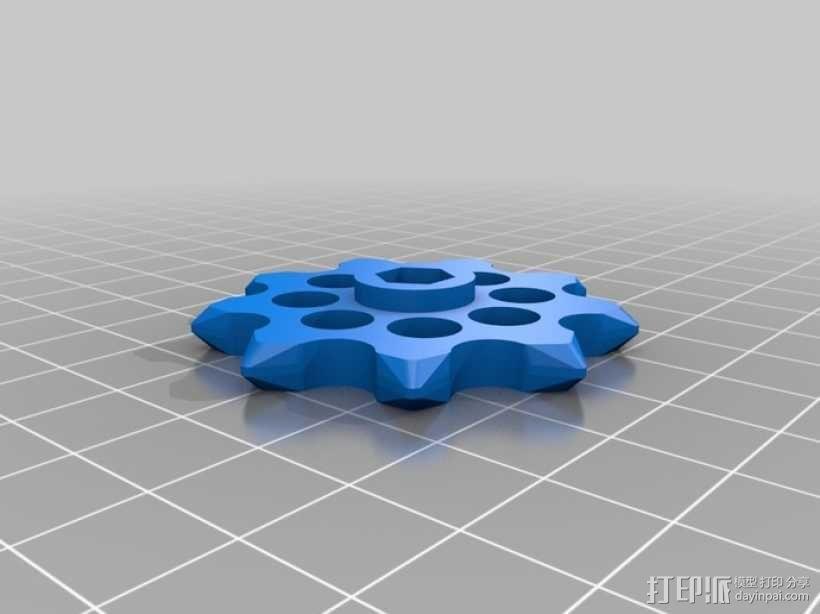 传动链 3D模型  图10