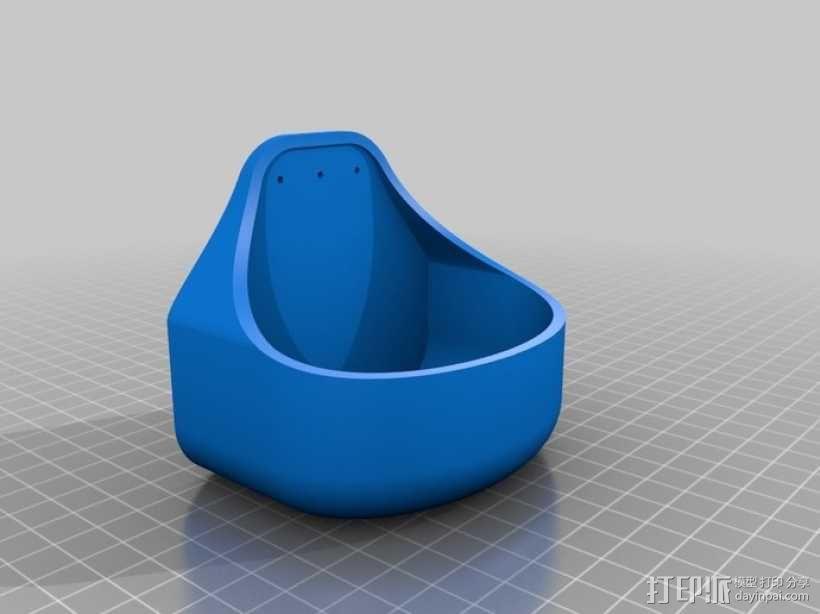 图钉盒 3D模型  图3