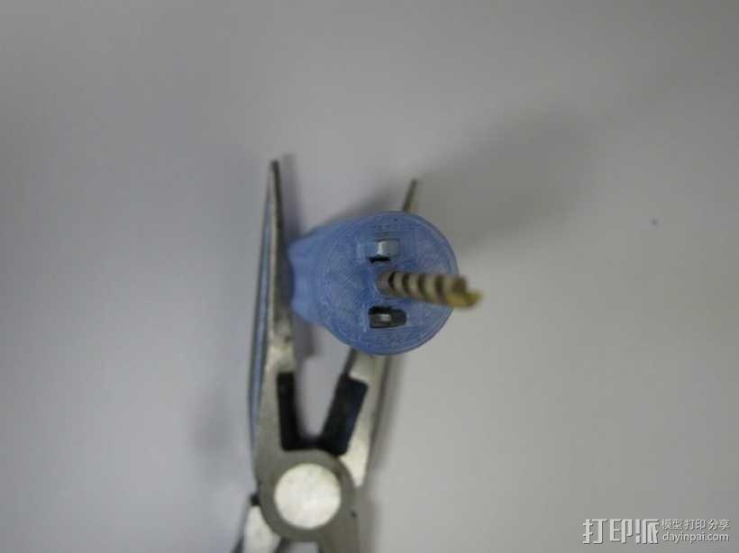 钻头手柄 3D模型  图2