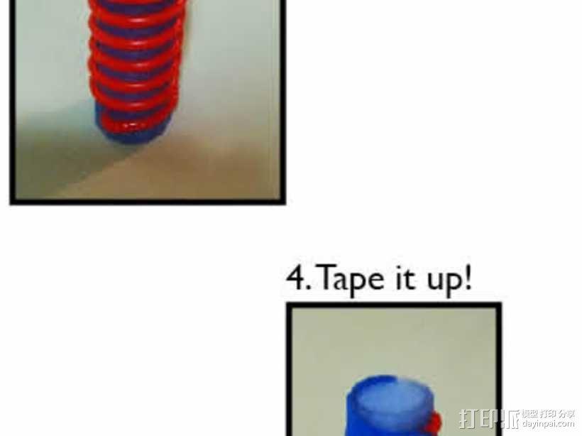 弹簧模具 3D模型  图2