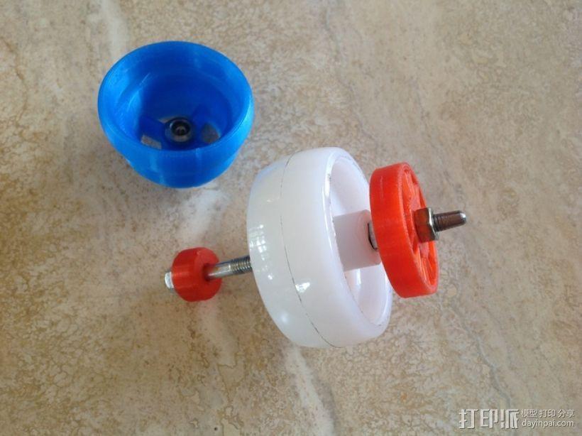 涡轮旋转工具配件 3D模型  图3