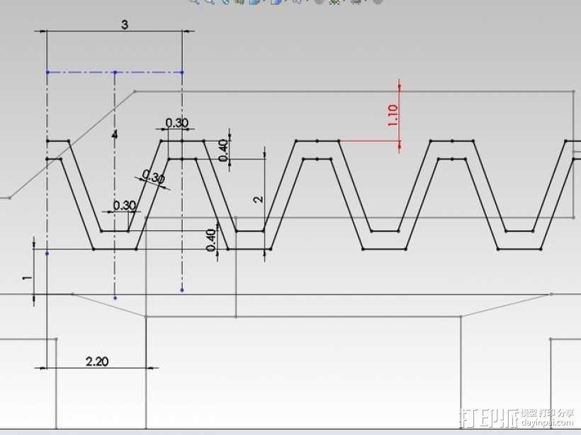 涡轮旋转工具配件 3D模型  图6