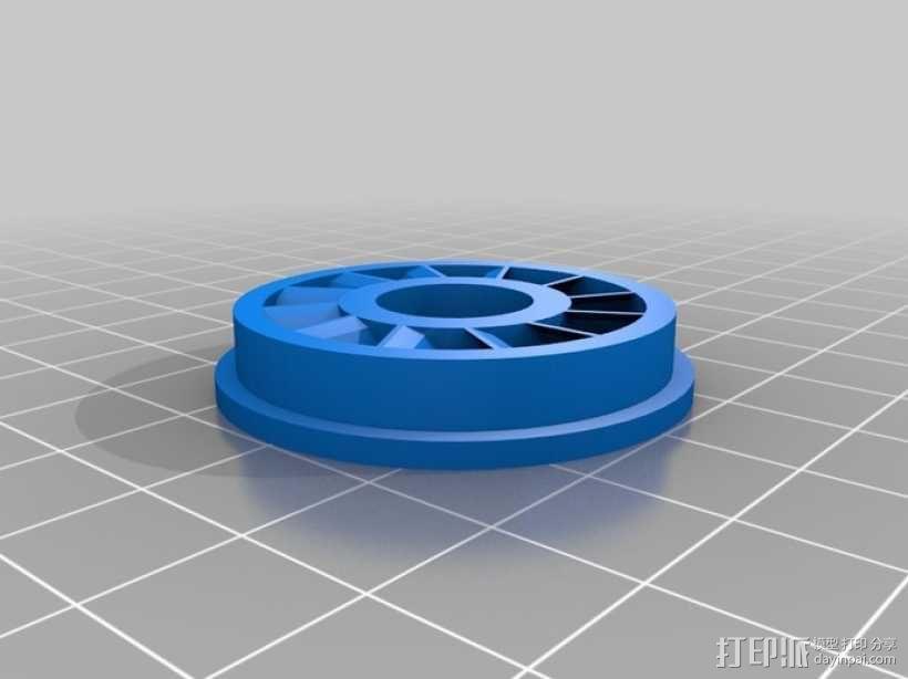 涡轮旋转工具配件 3D模型  图9