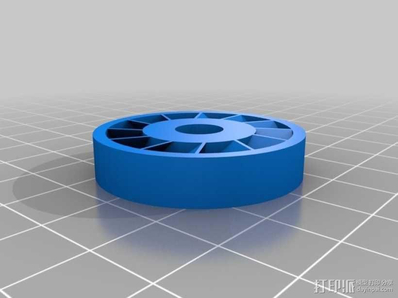 涡轮旋转工具配件 3D模型  图7