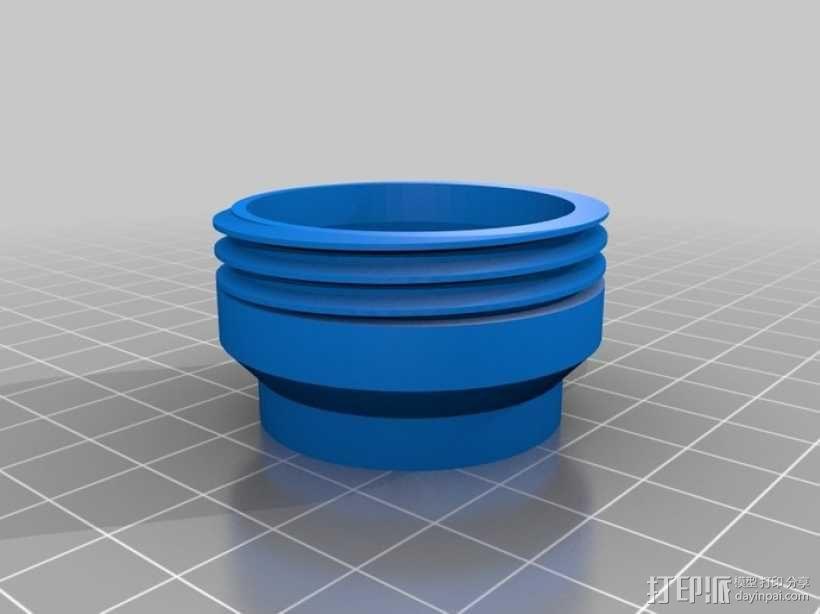 涡轮旋转工具配件 3D模型  图8