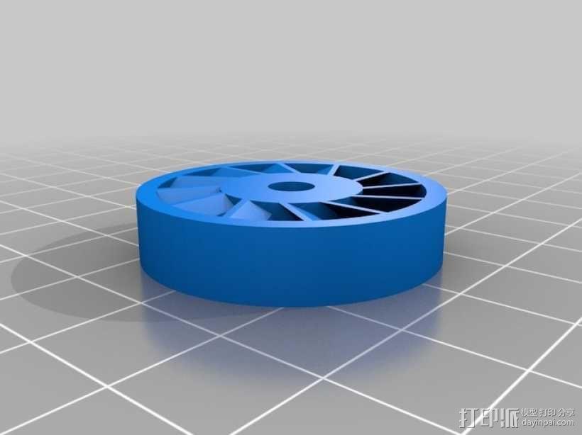 涡轮旋转工具配件 3D模型  图14