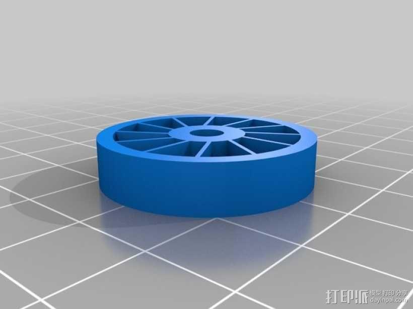 涡轮旋转工具配件 3D模型  图13