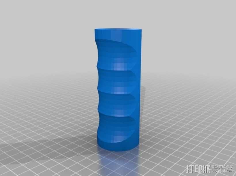 拖把柄/扫帚把 3D模型  图2