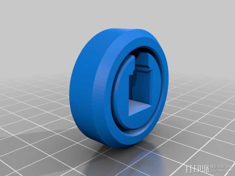 滚柱轴承 3D模型  图1