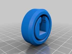 滚柱轴承 3D模型