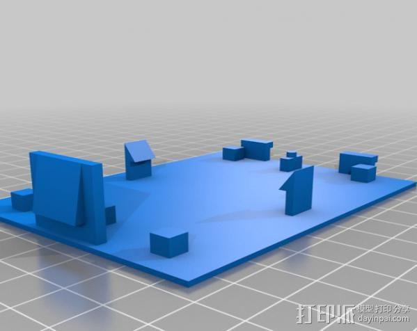 热量测试器 3D模型  图1