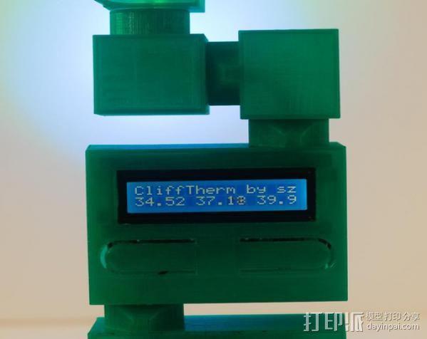热量测试器 3D模型  图8
