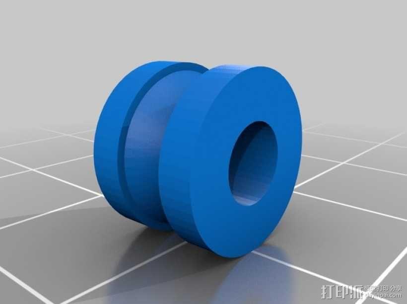 减速齿轮(1:256) 3D模型  图7